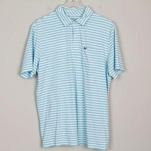 Vineyard Vines Polo Shirt Golf Stripe Classic Fit
